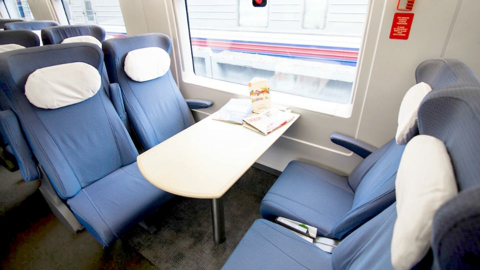 Sapsan Restaurant car