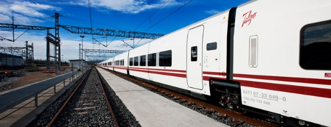 New link between Russia and Europe, Talgo trains