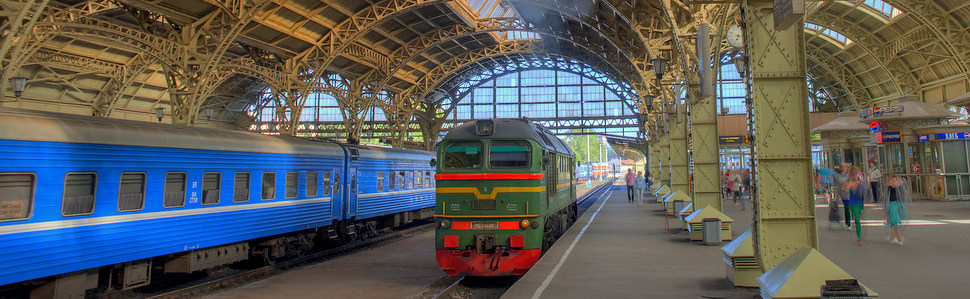 Russian rail stations