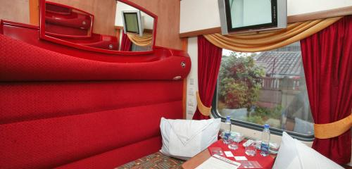 1st class SV compartment on board luxurious Grand Express train