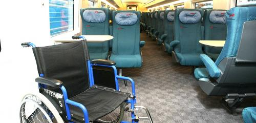 In Economy class car special care area is available